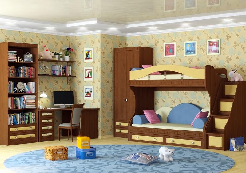 Современная мебель из Италии для ребенка от 3 лет до 6 лет