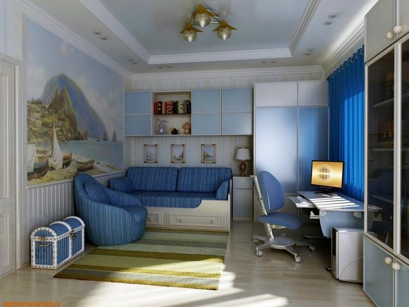 Современная мебель в детскую комнату мальчика