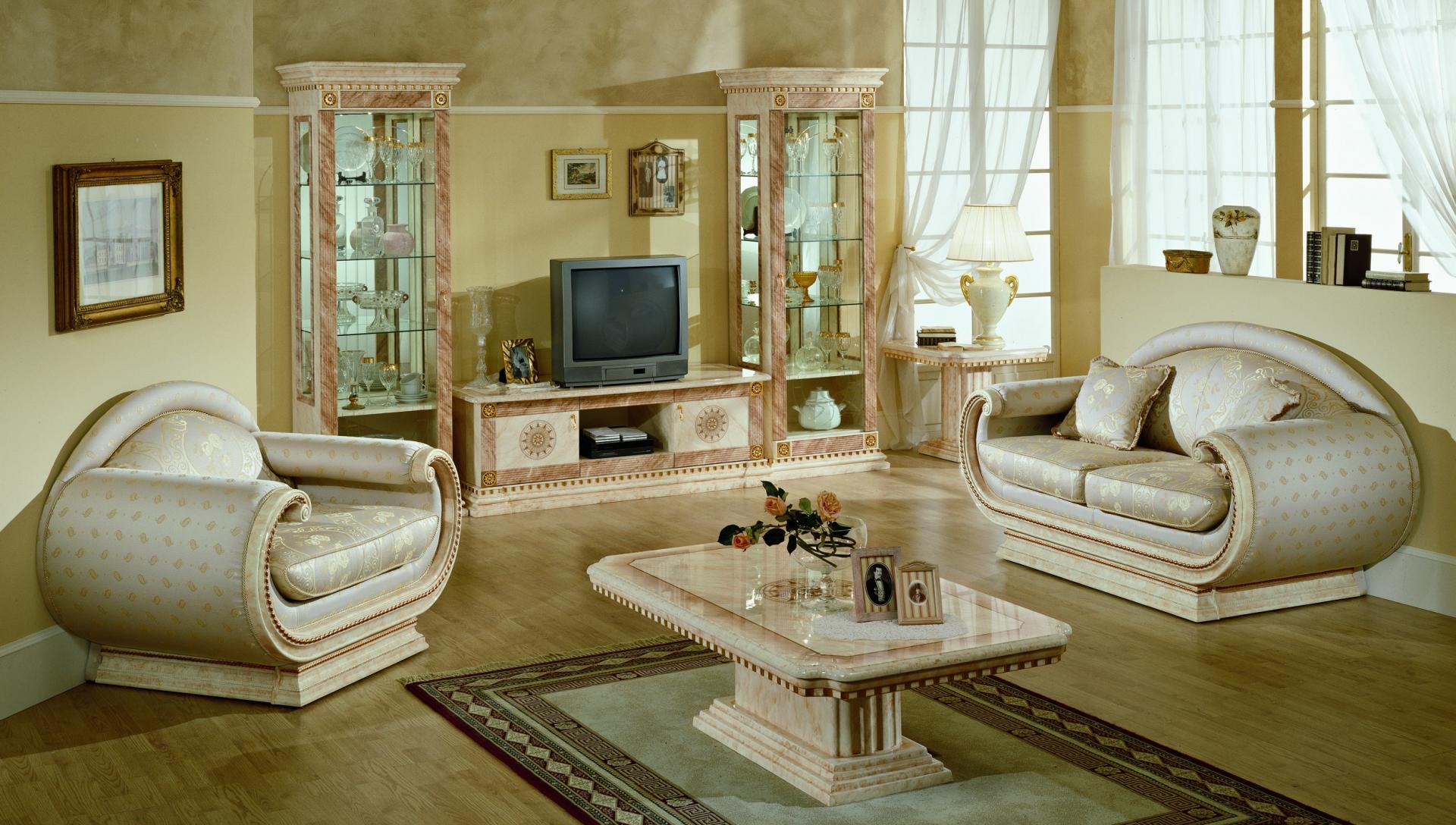 Современная мебель в гостиную классического стиля
