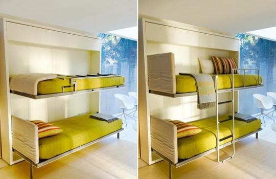 Современная откидная мебель для двух детей