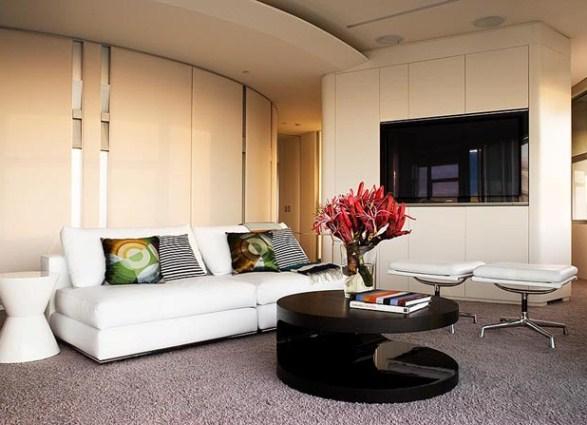 Современное оформление мебели для обустройства гостиной
