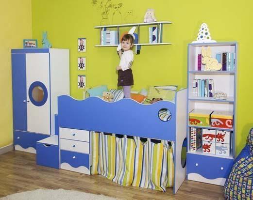 Современный набор детской мебели