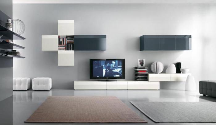 Современный стиль мебели для гостиной создает уют