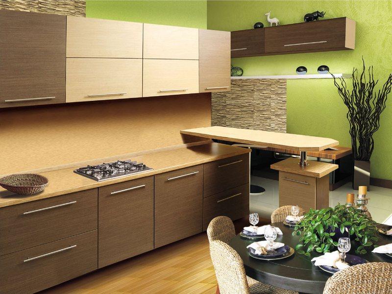 Созданный эффектный интерьер для комнаты