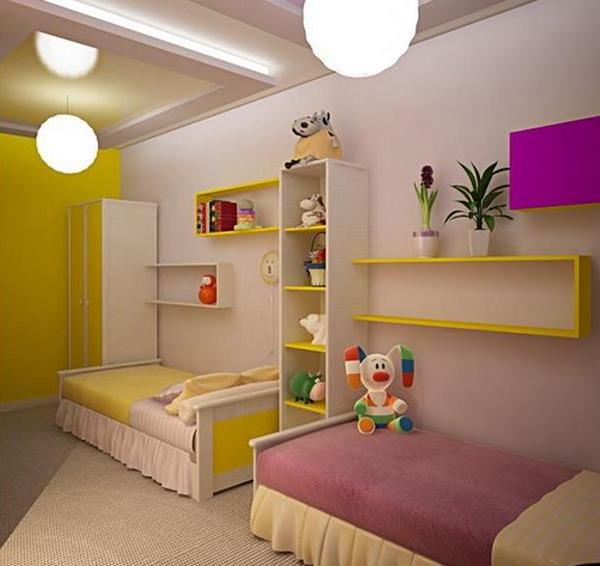 Спальное место девочек