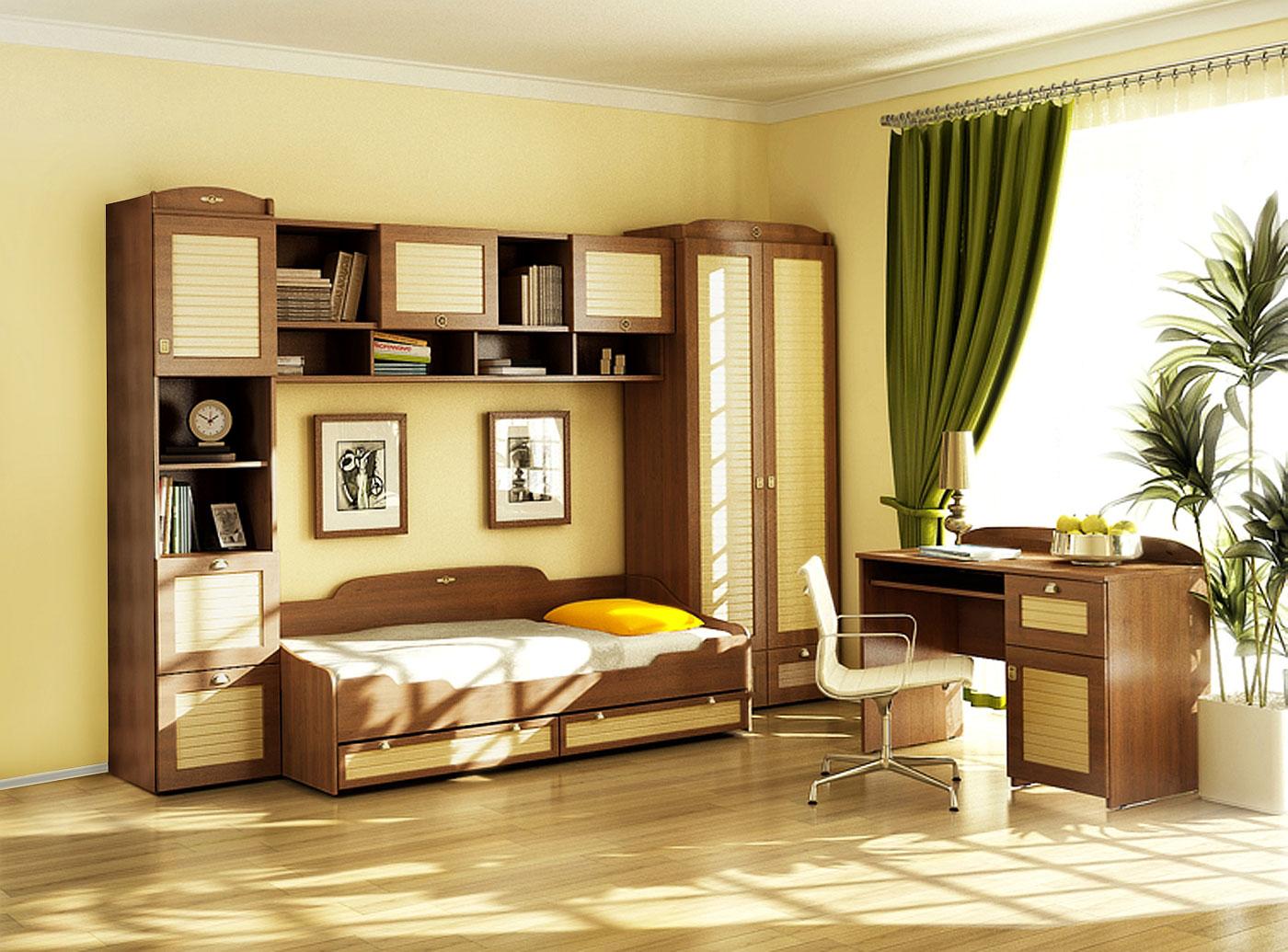 Спальный детский набор мебели