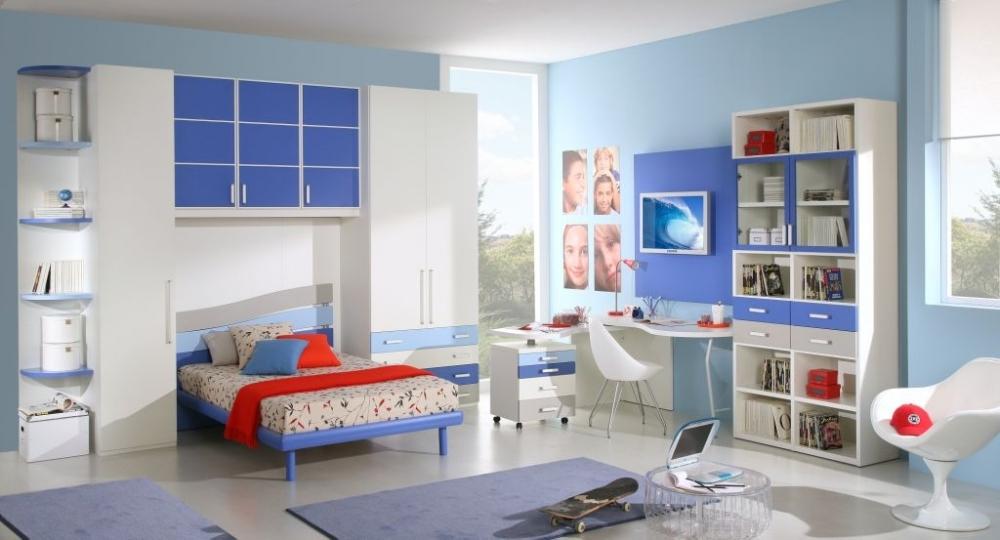 Стильная детская белая мебель в интерьере