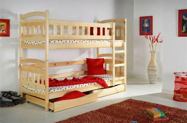 Стильная детская мебель из массива
