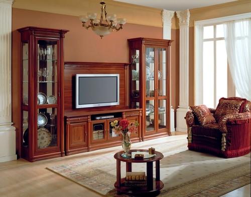 Стильная мебель в гостиную классического стиля