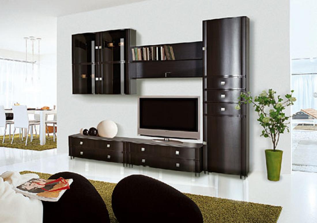 Модульная мебель для гостиной, основные вида и характеристик.