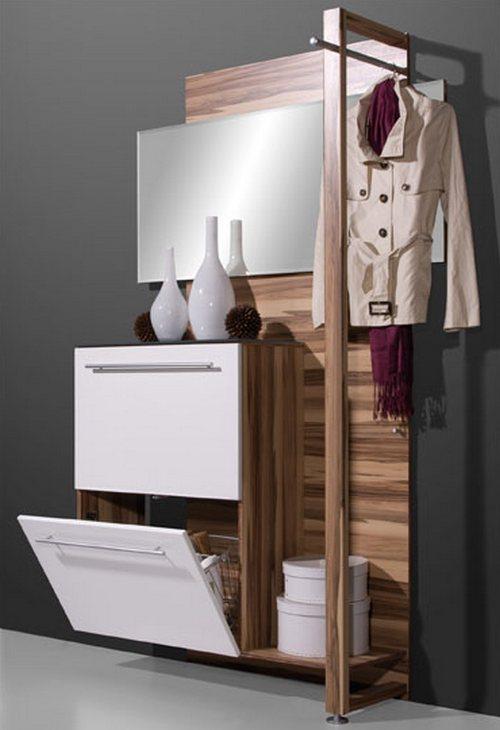 Стильная модульная мебель для оформления прихожей комнаты