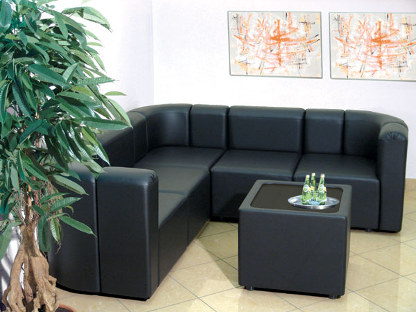 Стильная мягкая мебель в офис