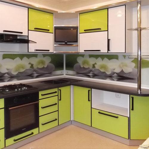 Стильная замена фасада кухни