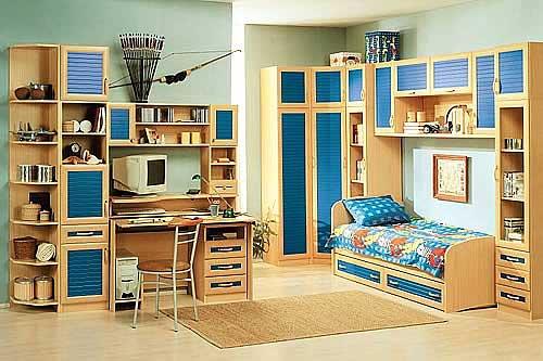 Стильный набор детской мебели