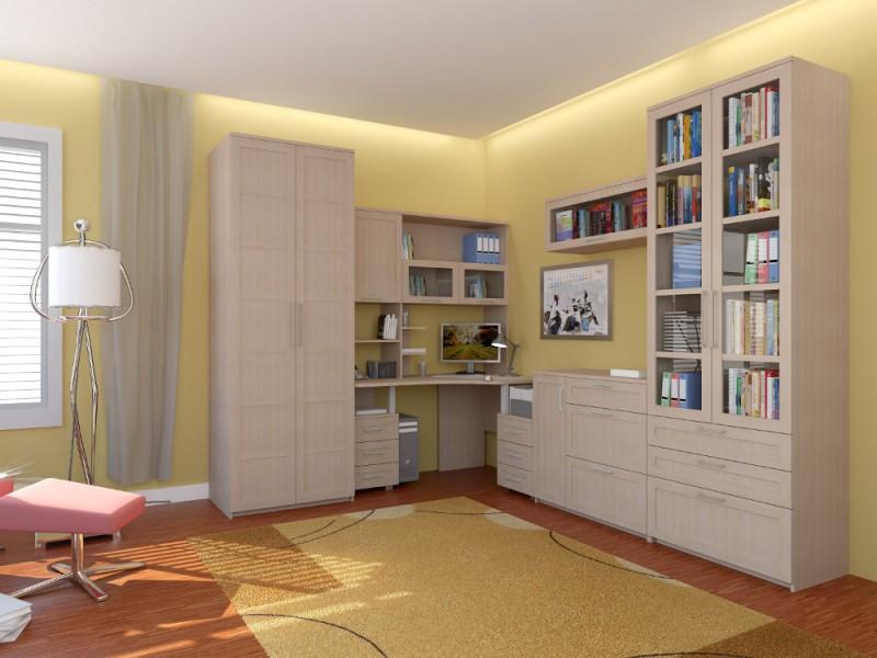 Светлая красивая мебель