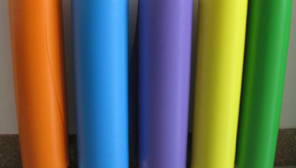 Цветная матовая пленка ПВХ