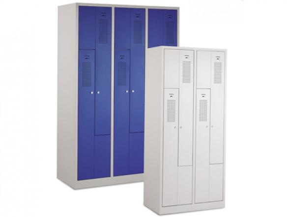 Цветные гардеробные шкафы