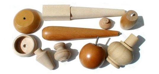 Точеные деревянные мебельные ножки