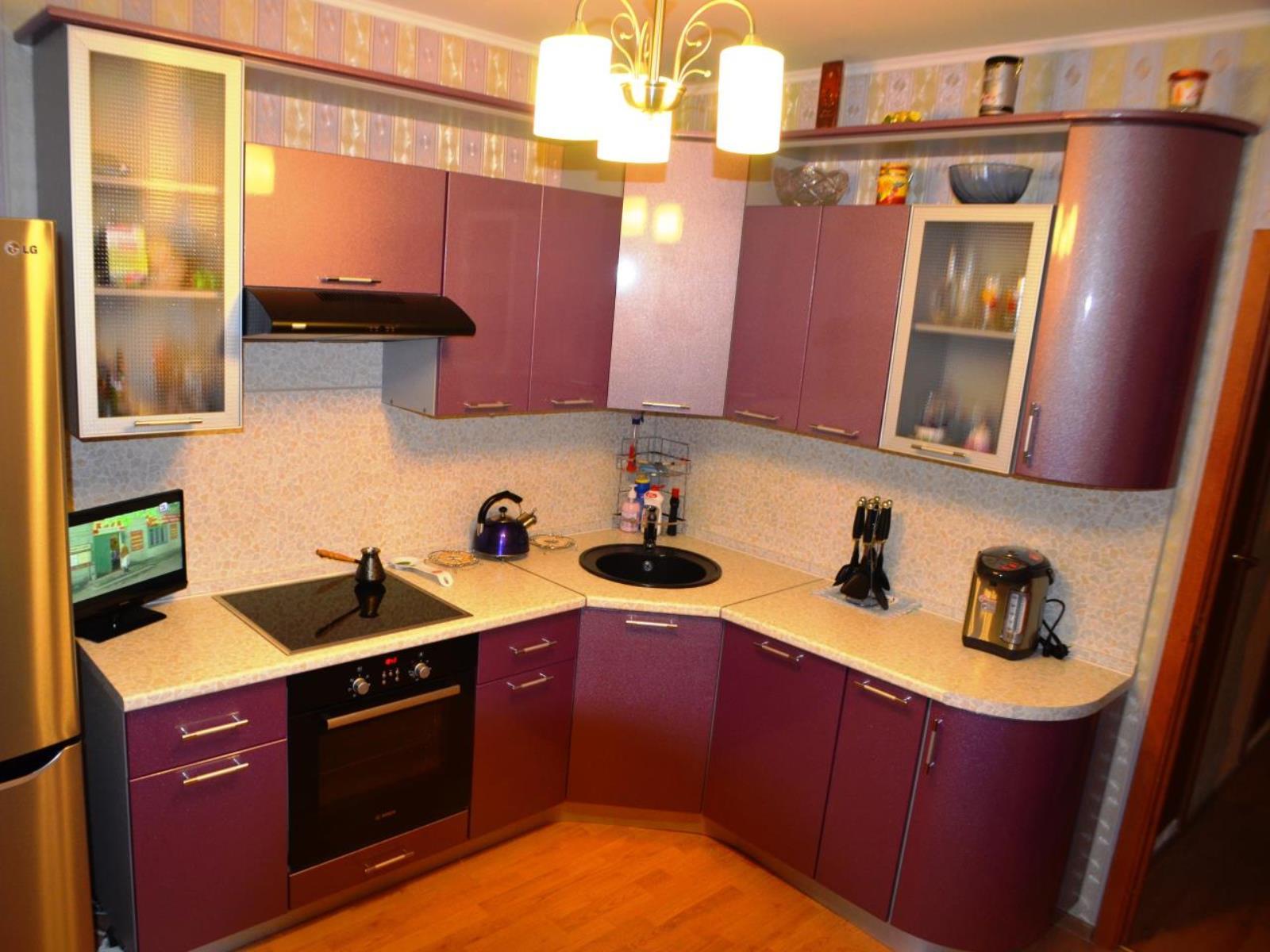 Удачная замена фасада кухни