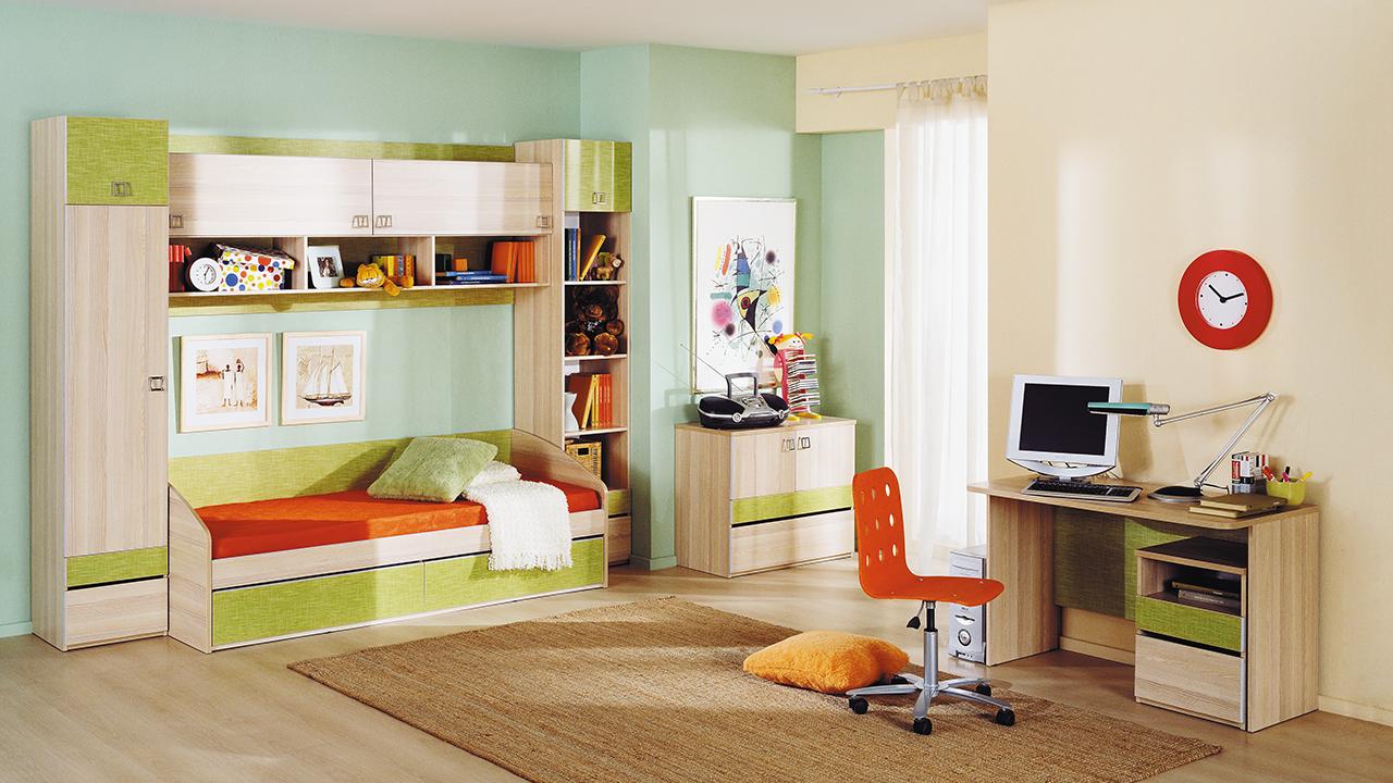 Удачный интерьер, созданный в небольшой комнате