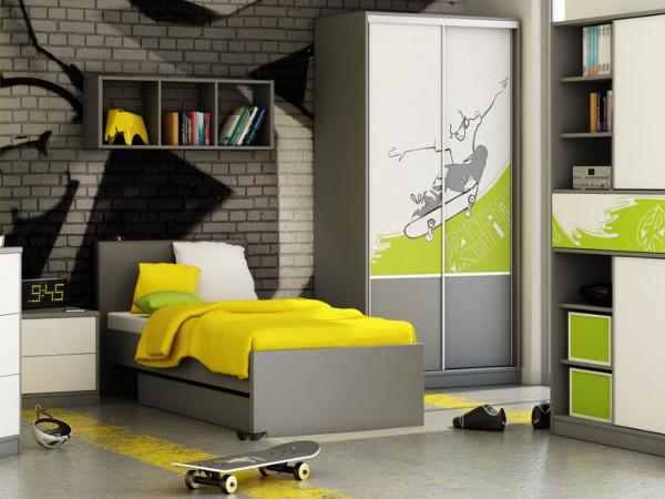 Удачный вариант детской комнаты