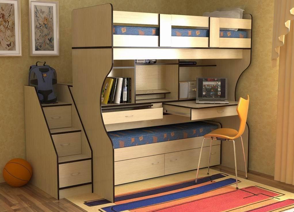 Удобная детская мебель трансформер