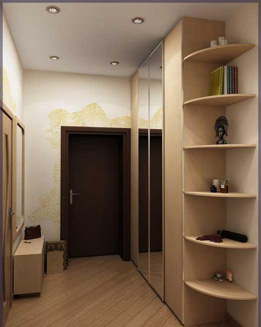 Удобная красивая мебель для небольшого коридора