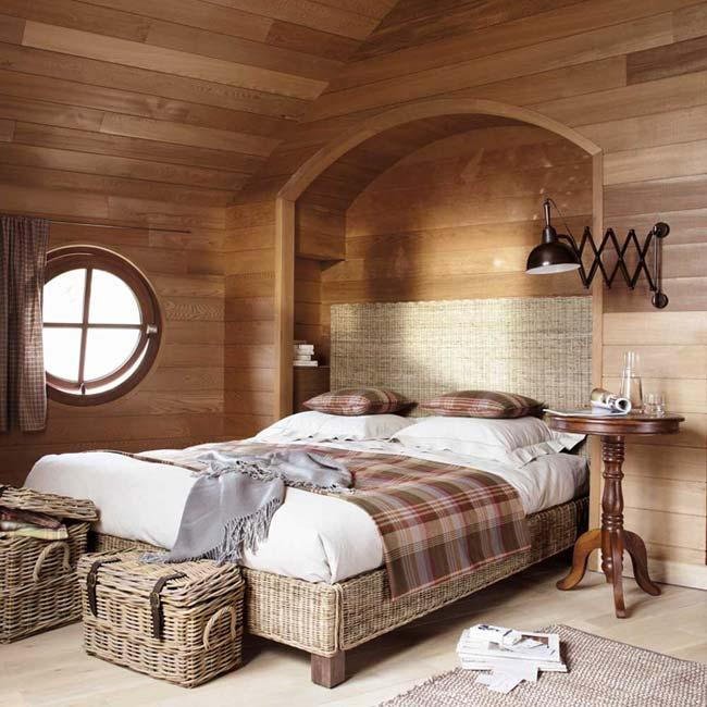 Плетеная мебель в спальню