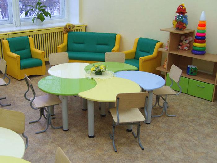 Удобная мебель в детский сад