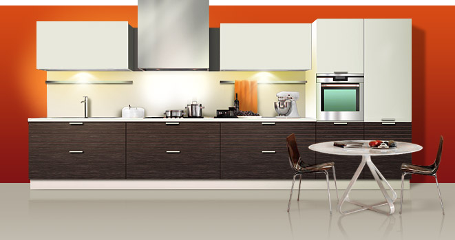 Удобная модульная мебель для кухни