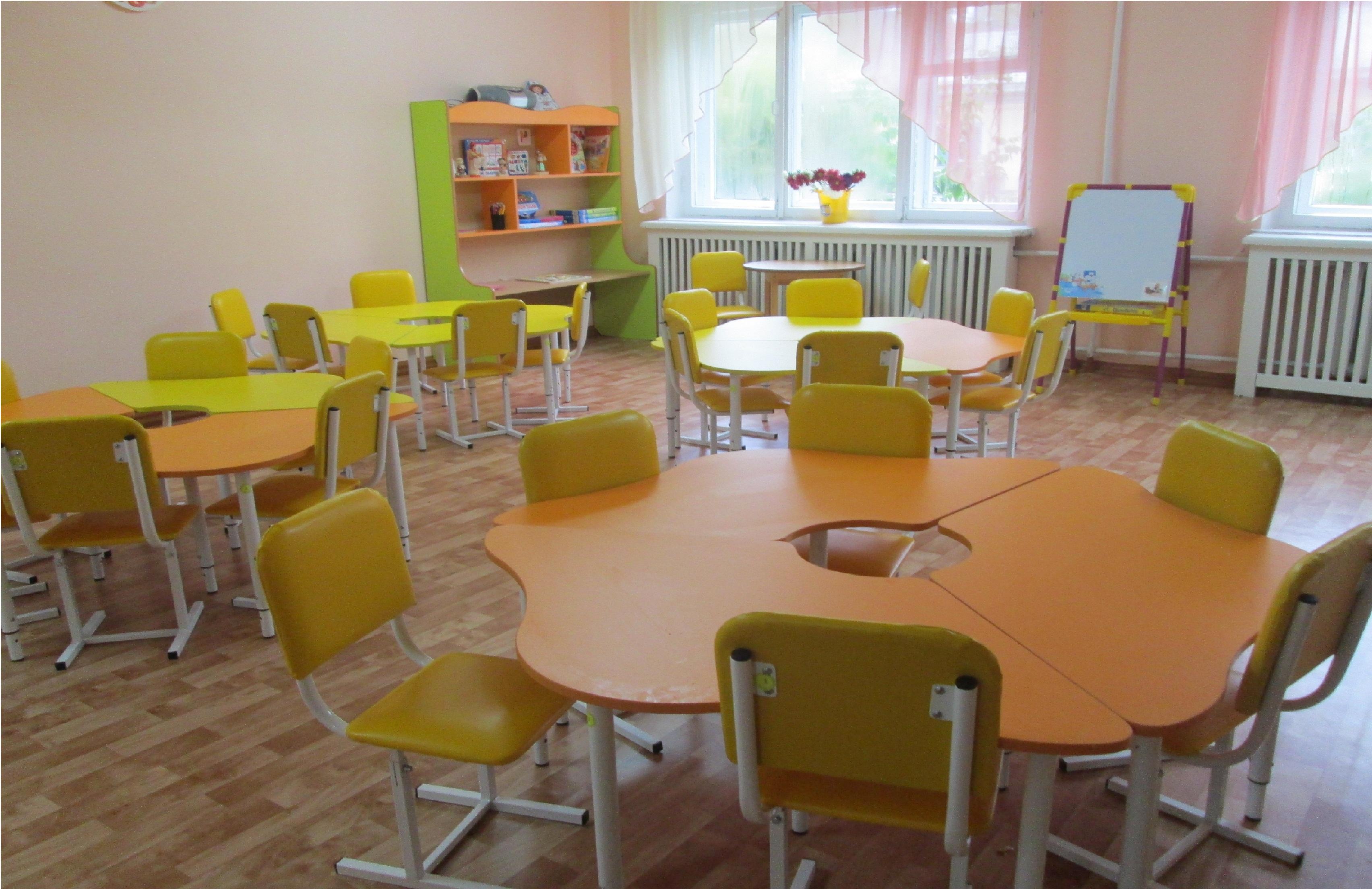 Удобная столовая в детский сад