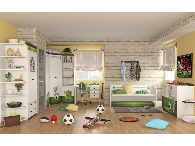Удобный детский набор мебели