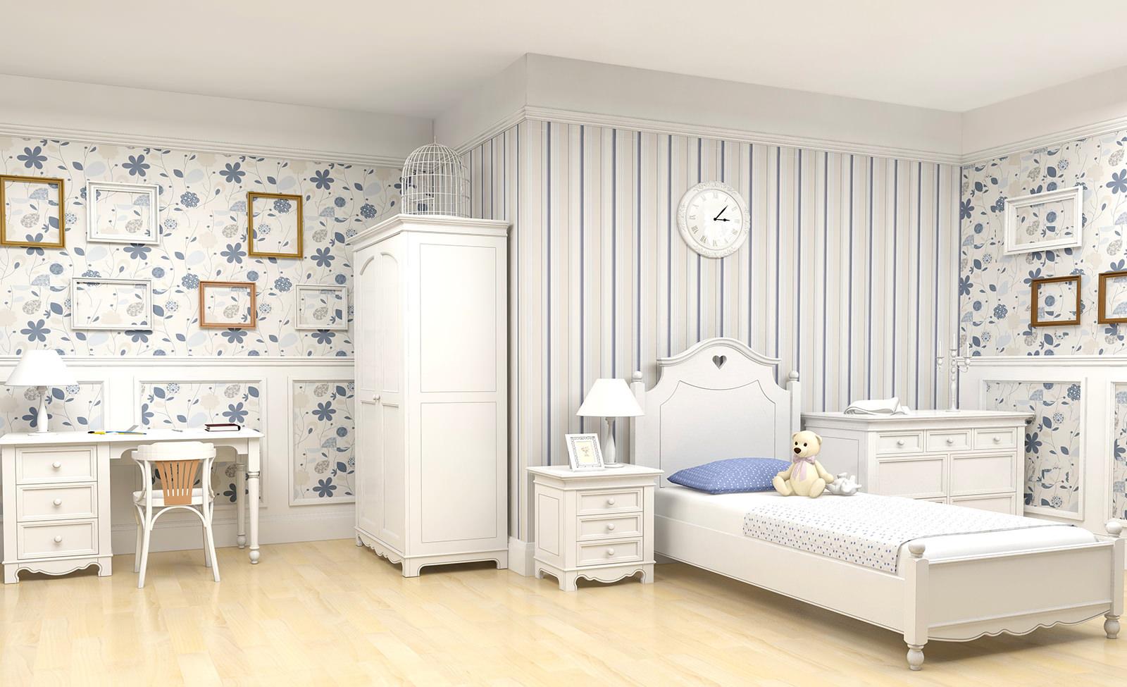 Украшение комнаты ребенка в стиле прованс