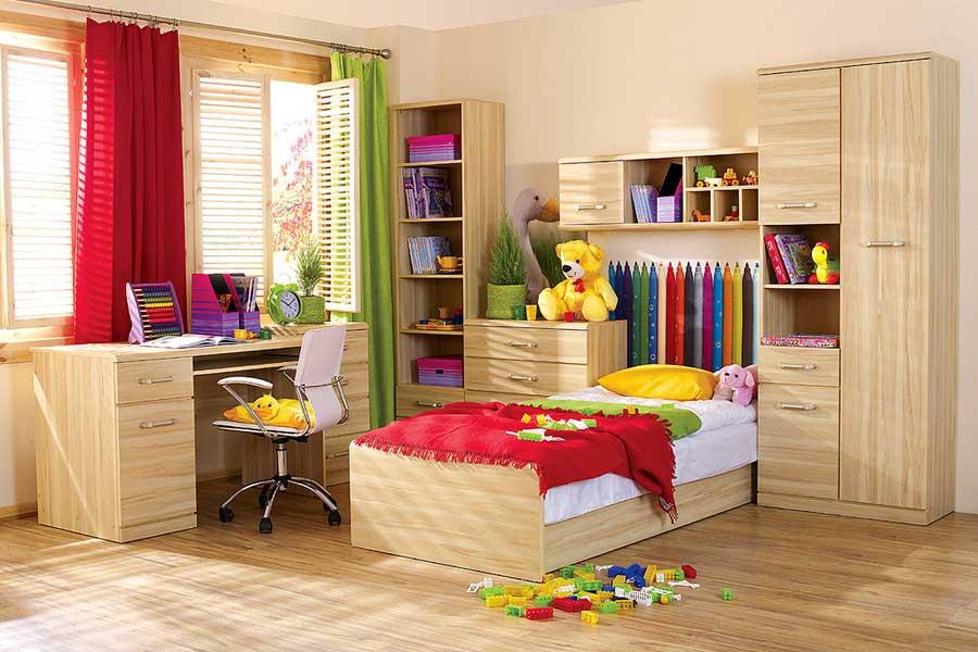 Украшение стен в комнате для ребенка