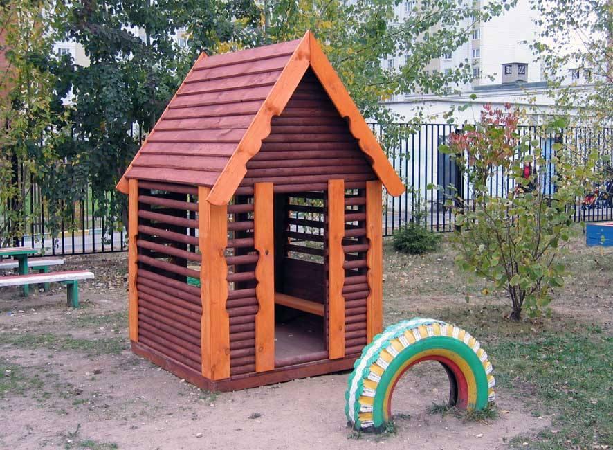 Уличные домики для сада