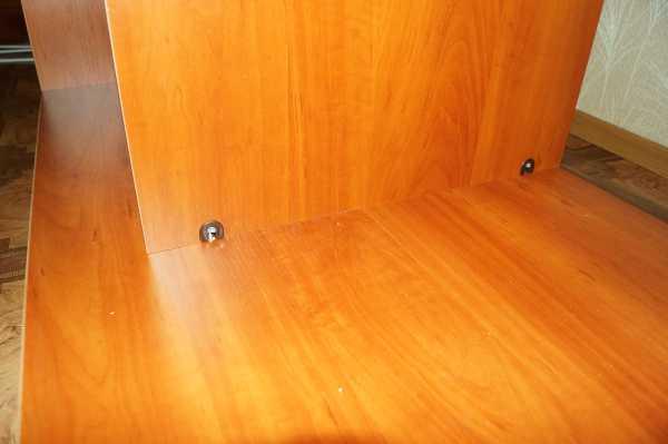 Установка боковой стенки мебели