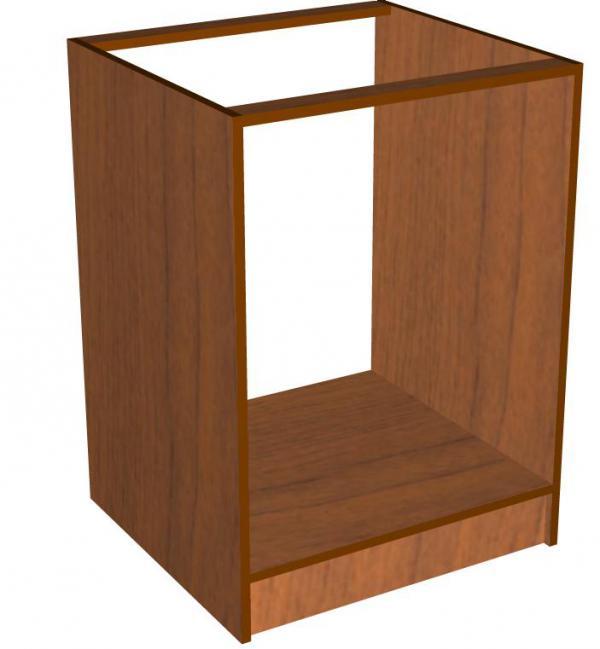 Установка второй боковой стенки мебели