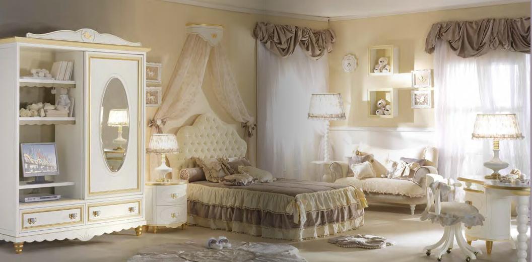 Уютная итальянская мебель для детской