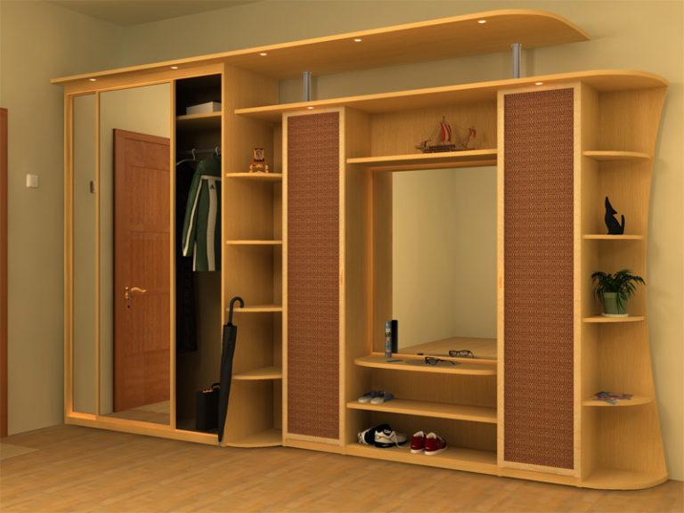 Мебель для коридора, преимущества и недостатки различных кон.