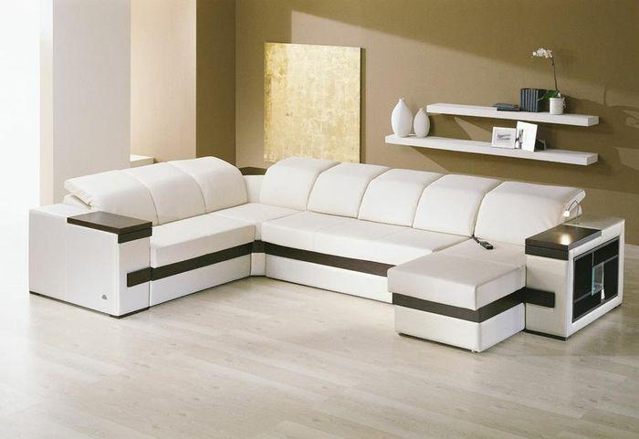Уютная мягкая мебель для гостиной