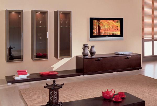 Вариант интерьера гостиной комнаты
