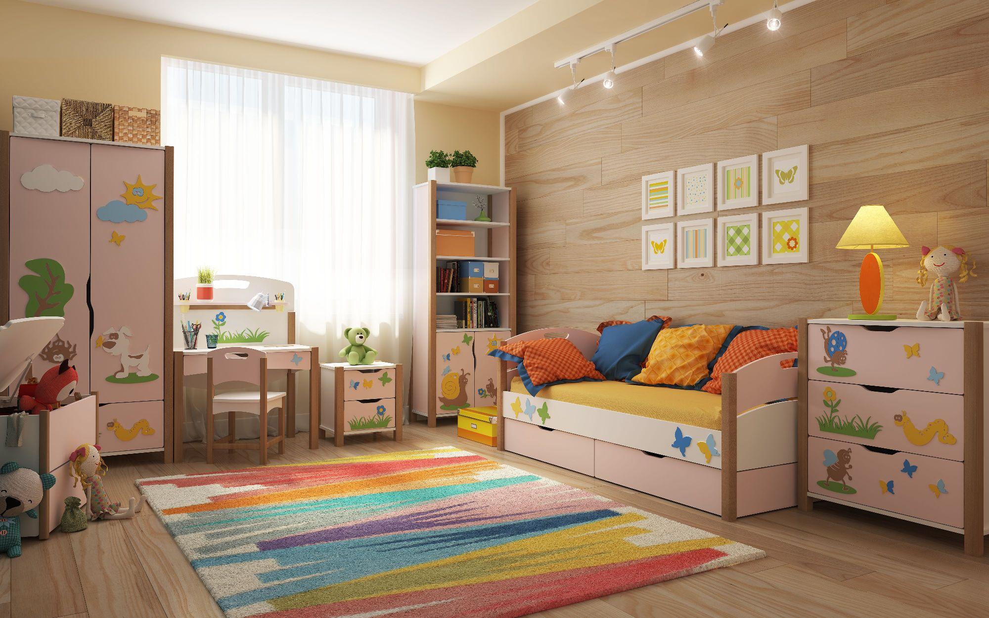 Вариант набора детской мебели