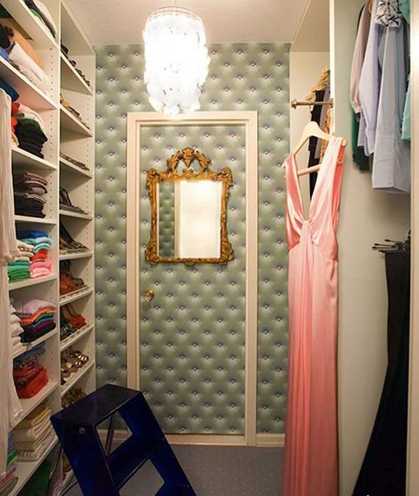 Вариант зонирования гардероба