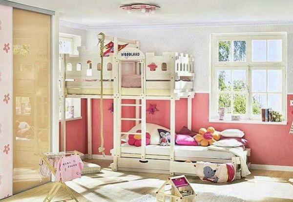 Варианты дизайна комнаты для двух девочек
