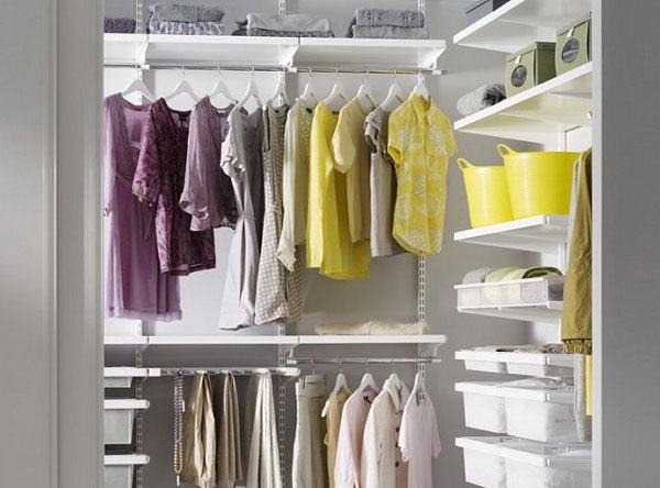 Варианты гардеробных комнат из кладовок