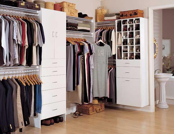 Вопрос устройства отдельных гардеробных в маленьких квартирах