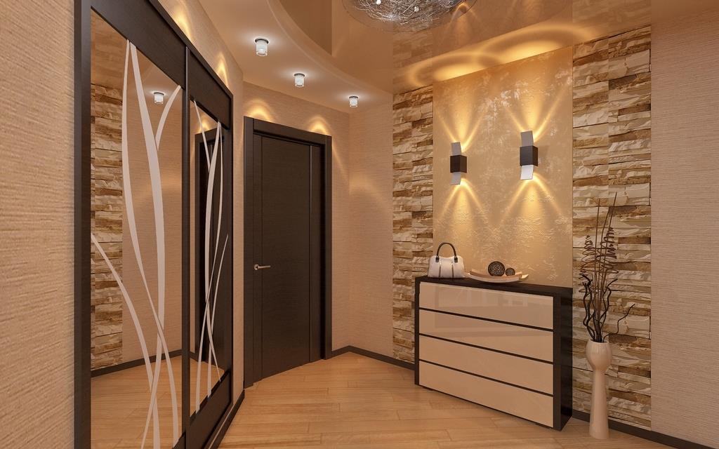 Встроенная мебель для обустройства коридора