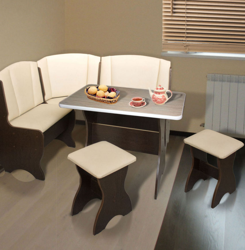 Выбиараем диваны с секциями для кухни