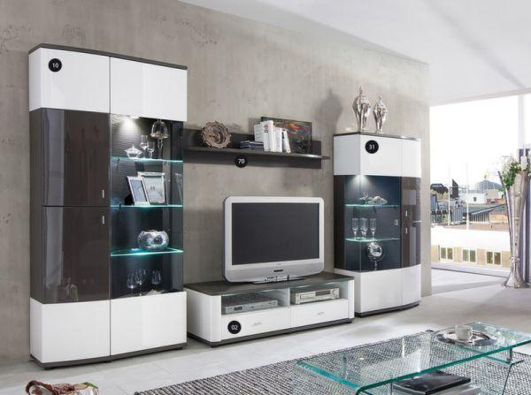 Выбираем мебель для гостиной с современным стильным оформлением