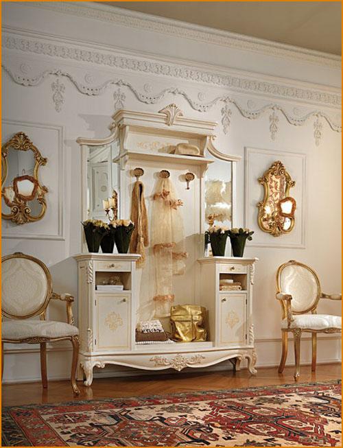 Выбираем мебель для прихожей классического стиля для дома
